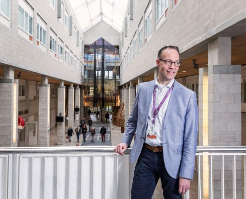 Max Heijboer hoofd Bouwprojecten van het Albert Schweitzer ziekenhuis