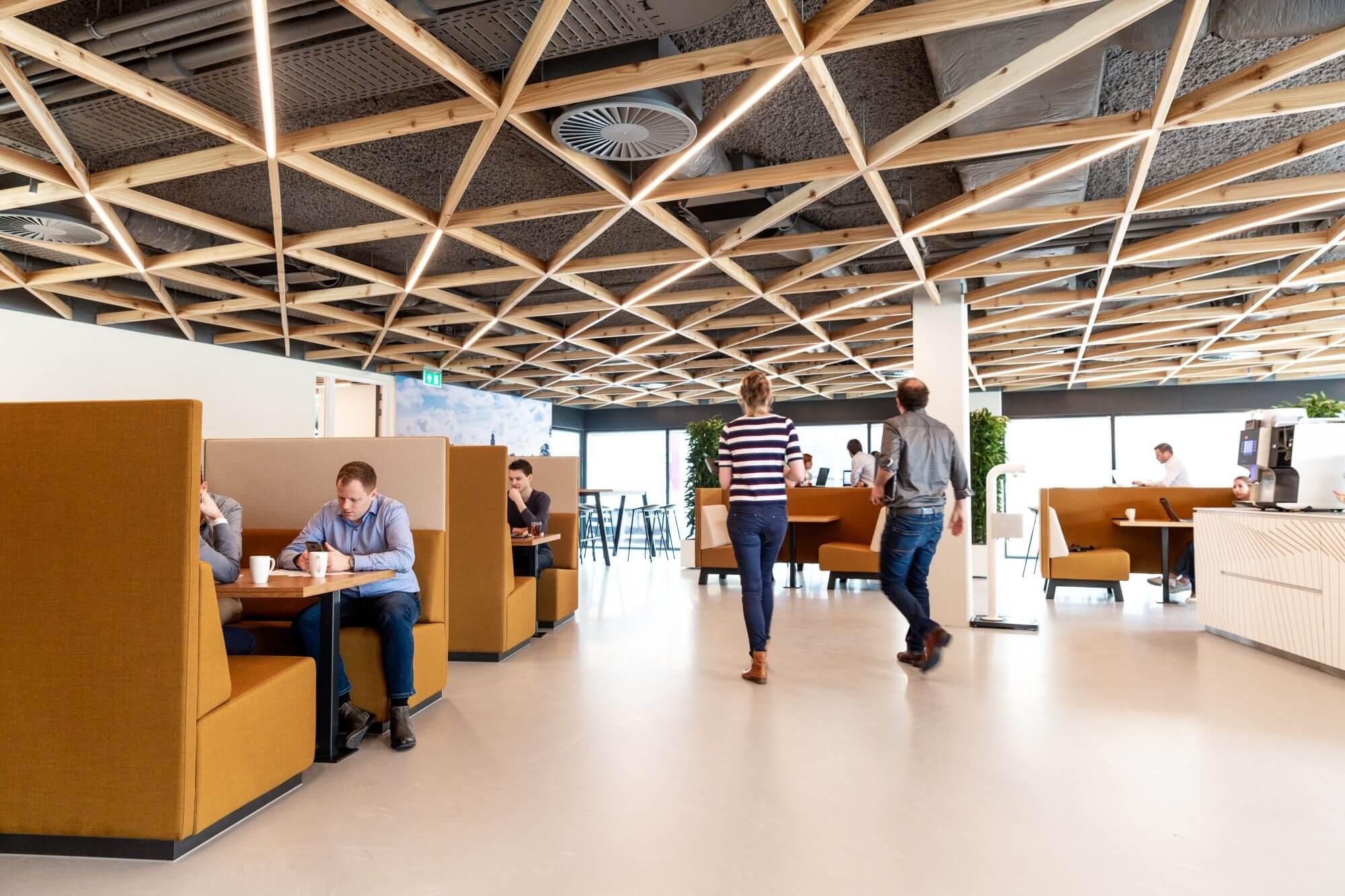 Renovatie kantoor Witteveen+Bos