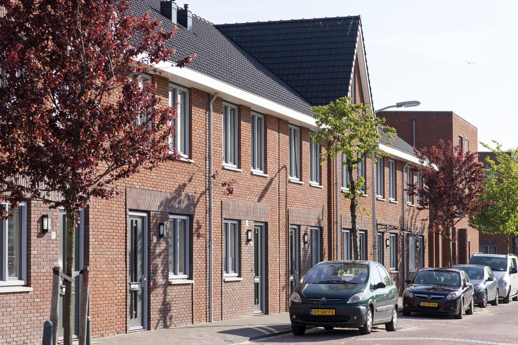 Woningen in Vermeerkwartier
