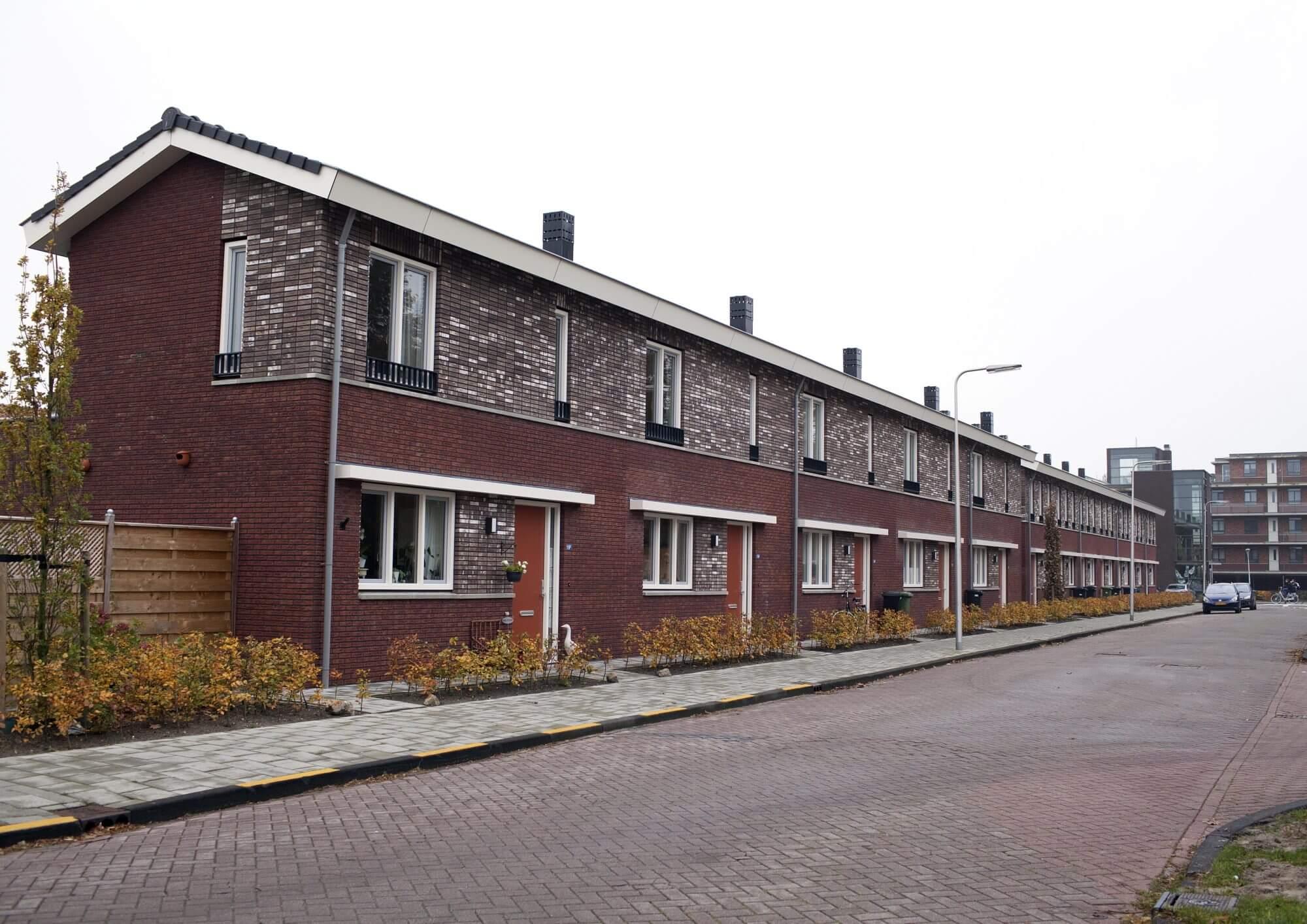Blok 4 en 5: 16 eengezinswoningen