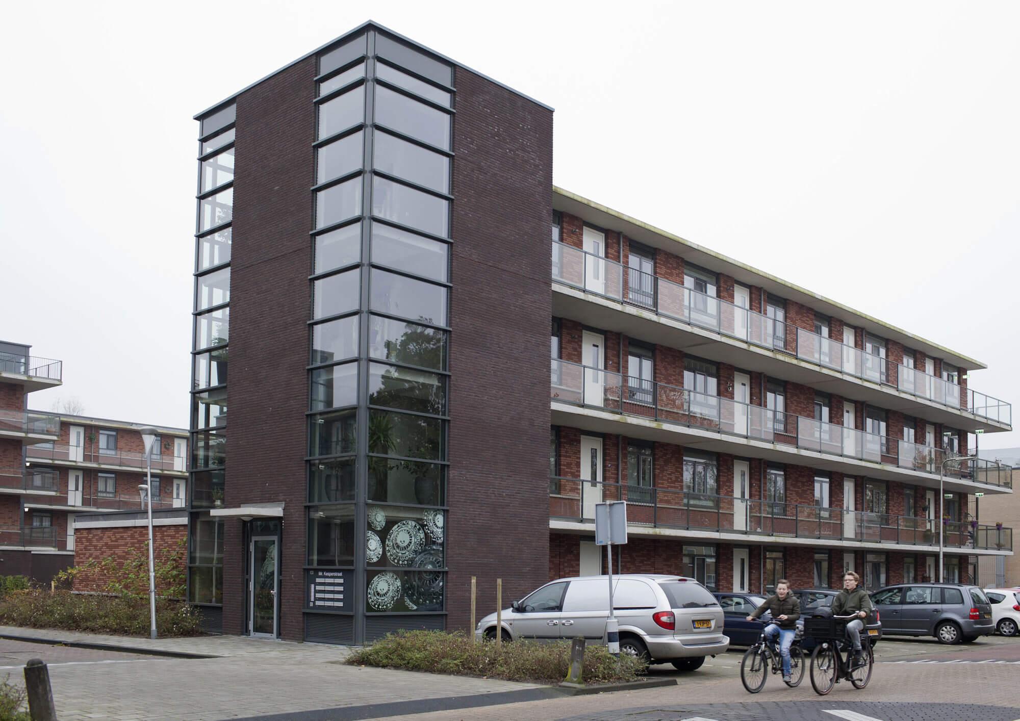 Blok 1: 63 appartementen