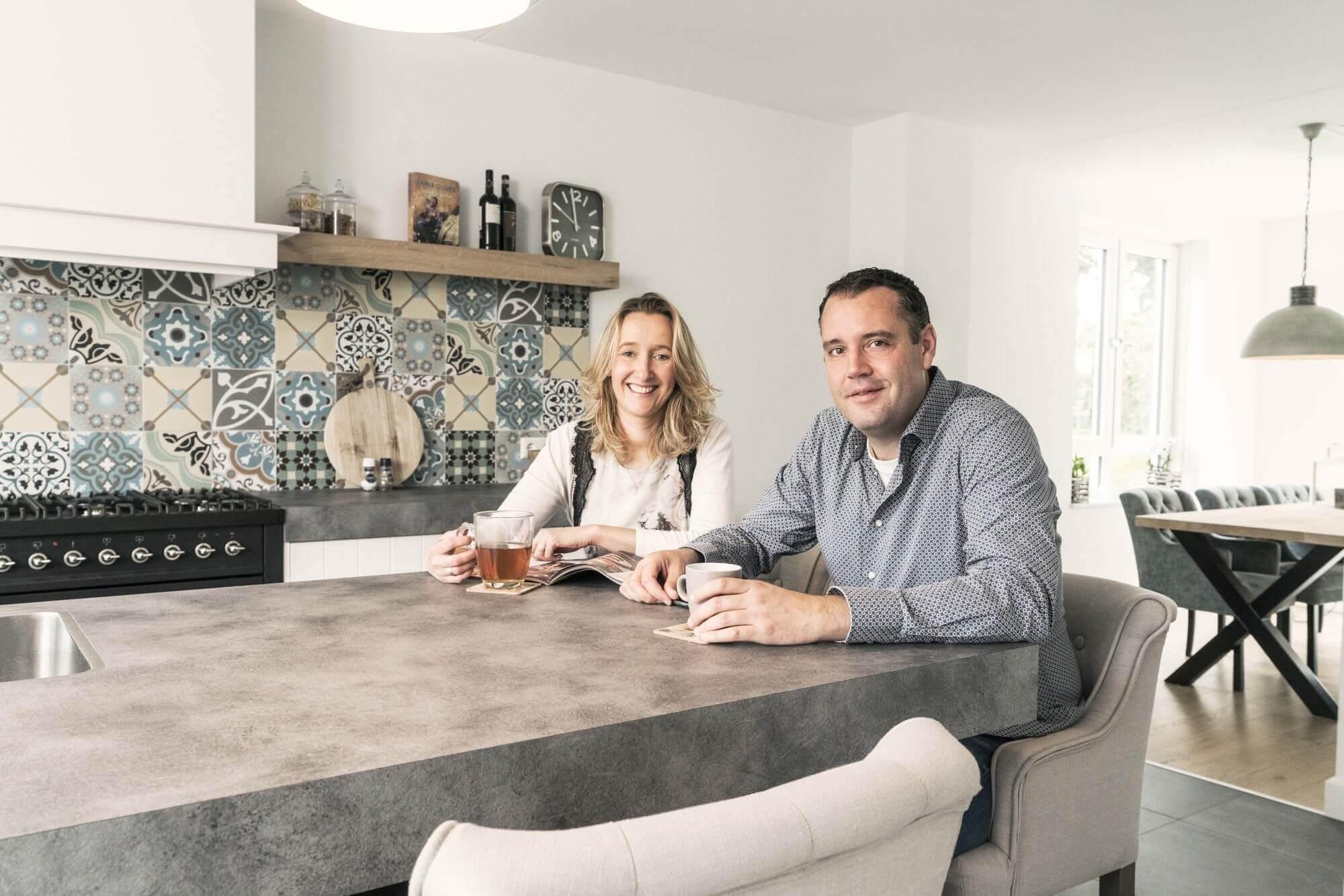 Afgewerkte woning met MijnHuis van Sabine en Marcel