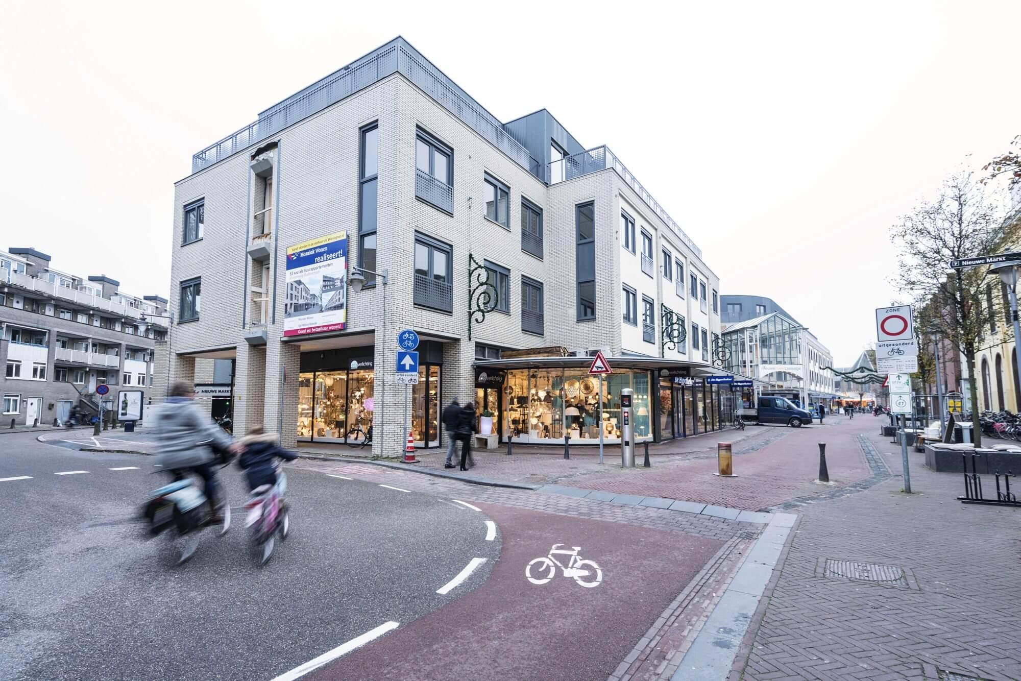 Transformatie kantoren naar woningen Kloosterveste, Gouda