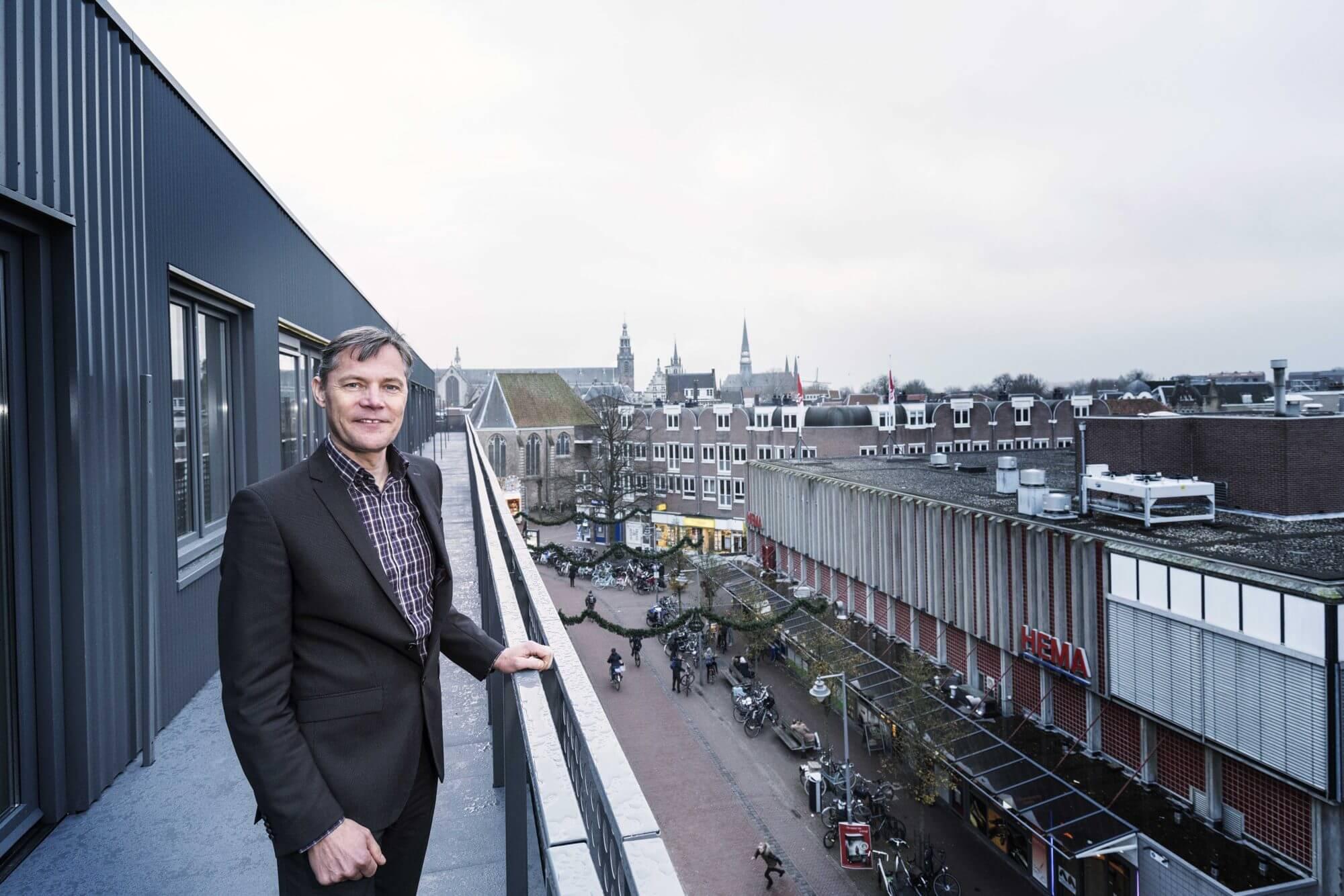 Thijs Boers, teamleider Vastgoedontwikkeling bij Mozaïek Wonen