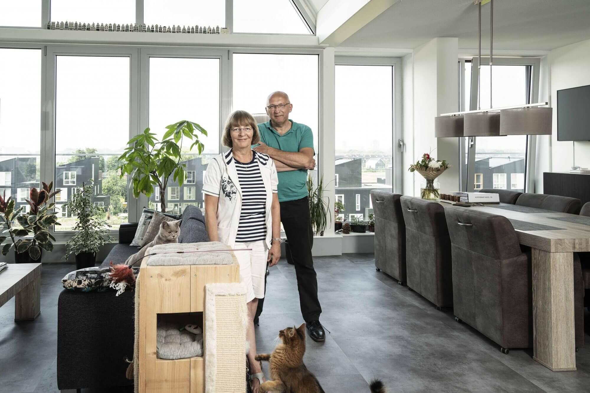 CPO Geworteld Wonen RijswijkBuiten, kopers Tonnie en Paul