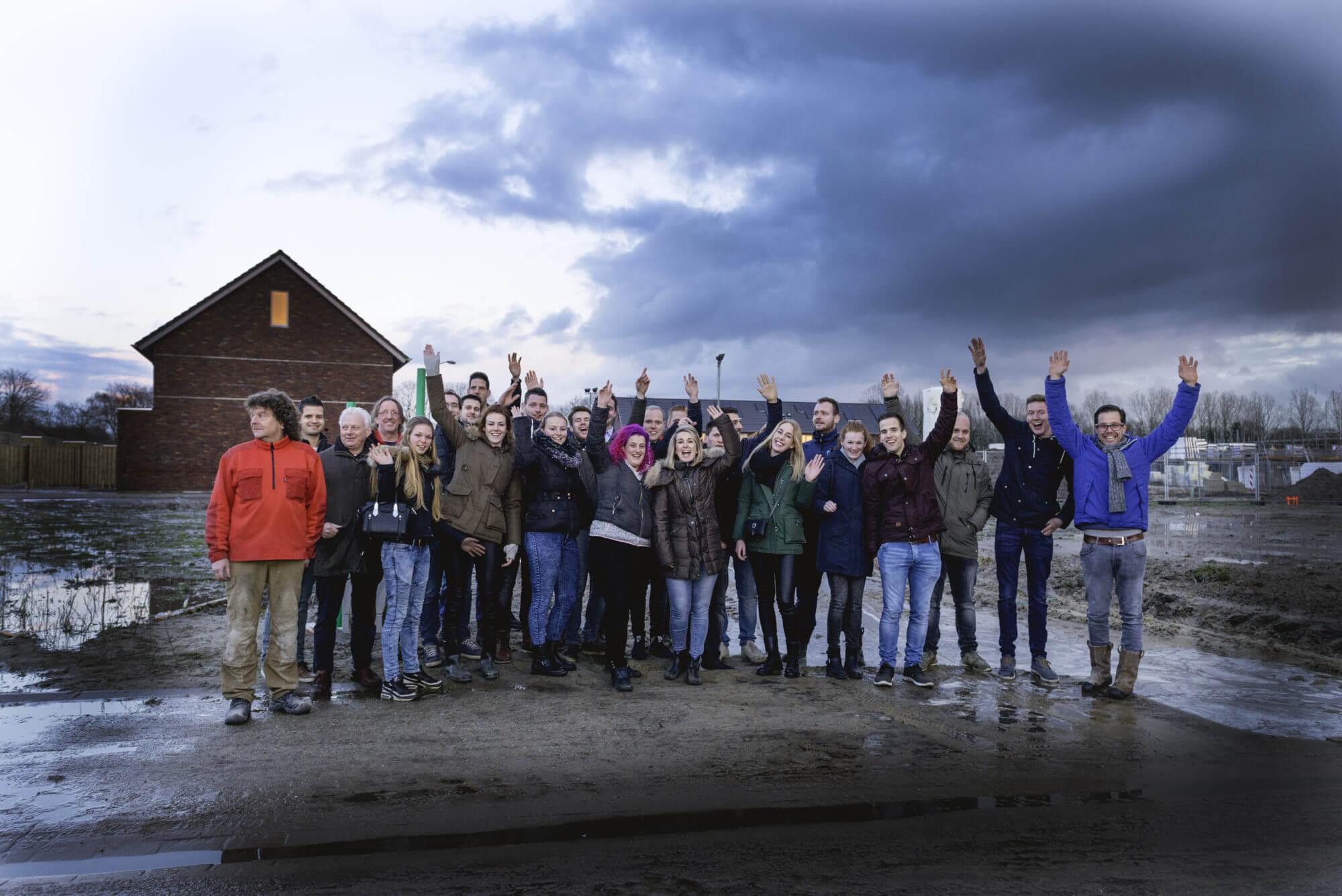 Bewoners en team Van Wijnen