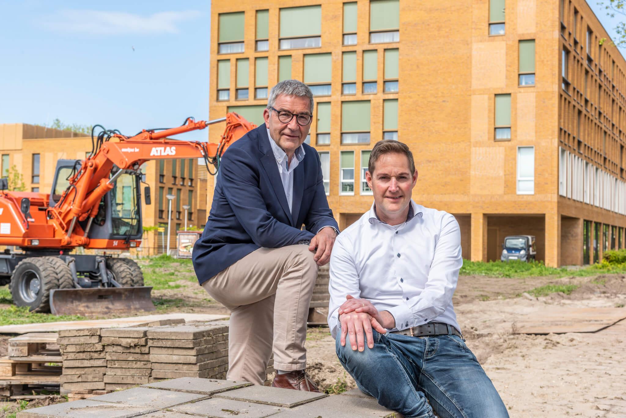 Cees Bol QuaWonen en Johan Immerzeel Van Wijnen Meerkoetflat