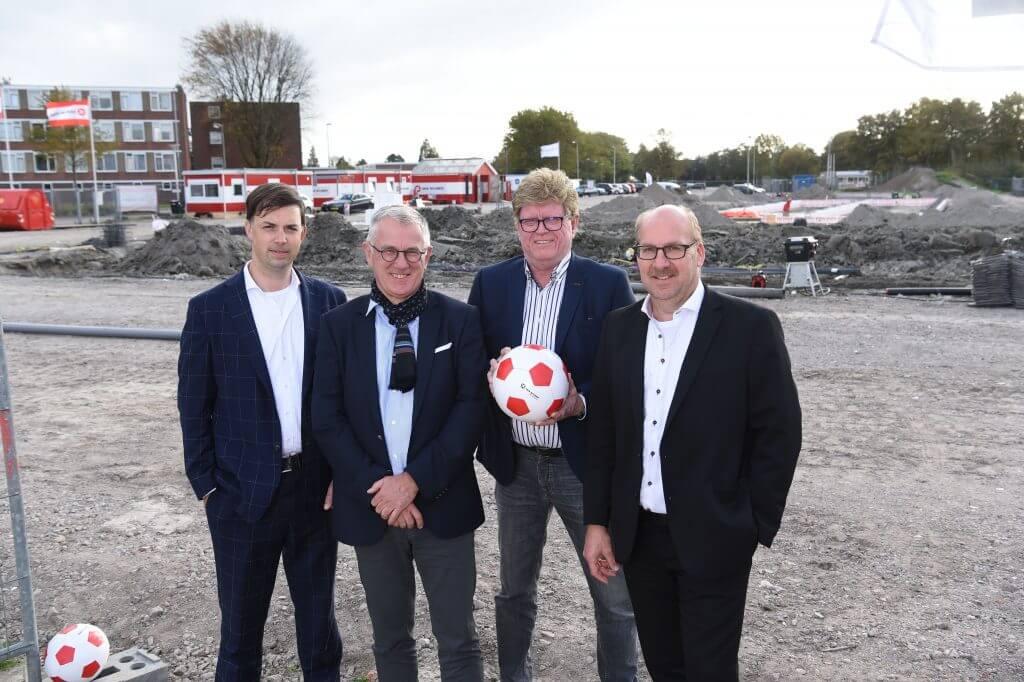 Arjen Oosting, Rob Huyzer, Jan Adema, Peter Hutten