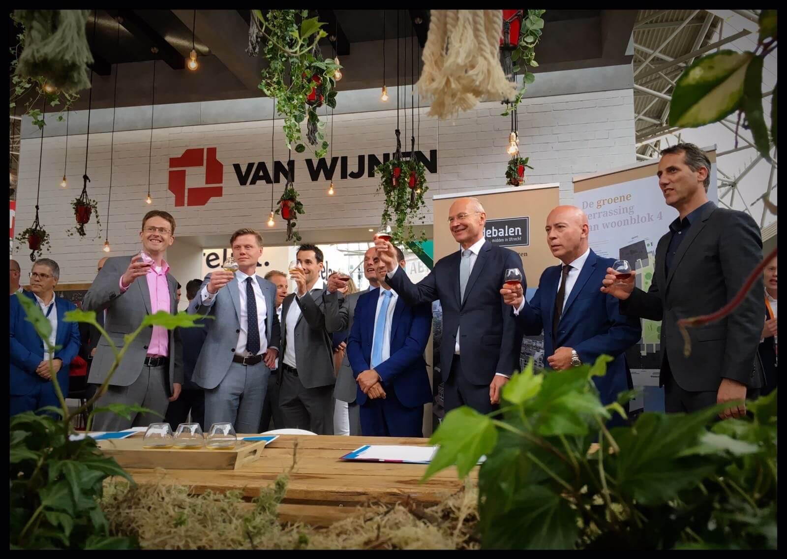 Blij met goede samenwerking aan gebiedsontwikkeling Zijdebalen in Utrecht