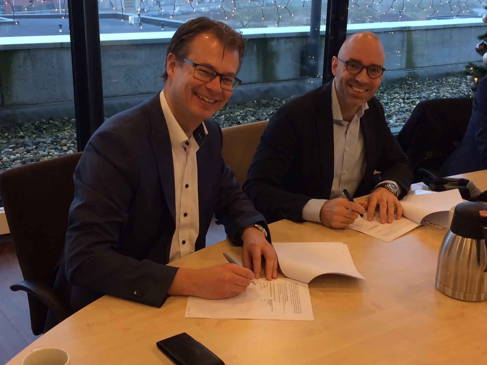 Ondertekening Inclusief Wonen 60 appartementen Arnhem