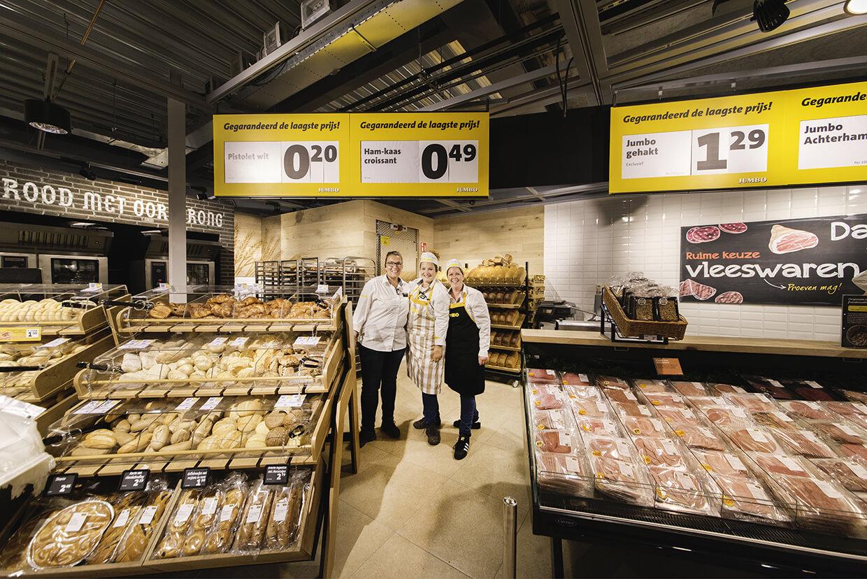 Jumbo Heeswijk -brood en vleeswaren