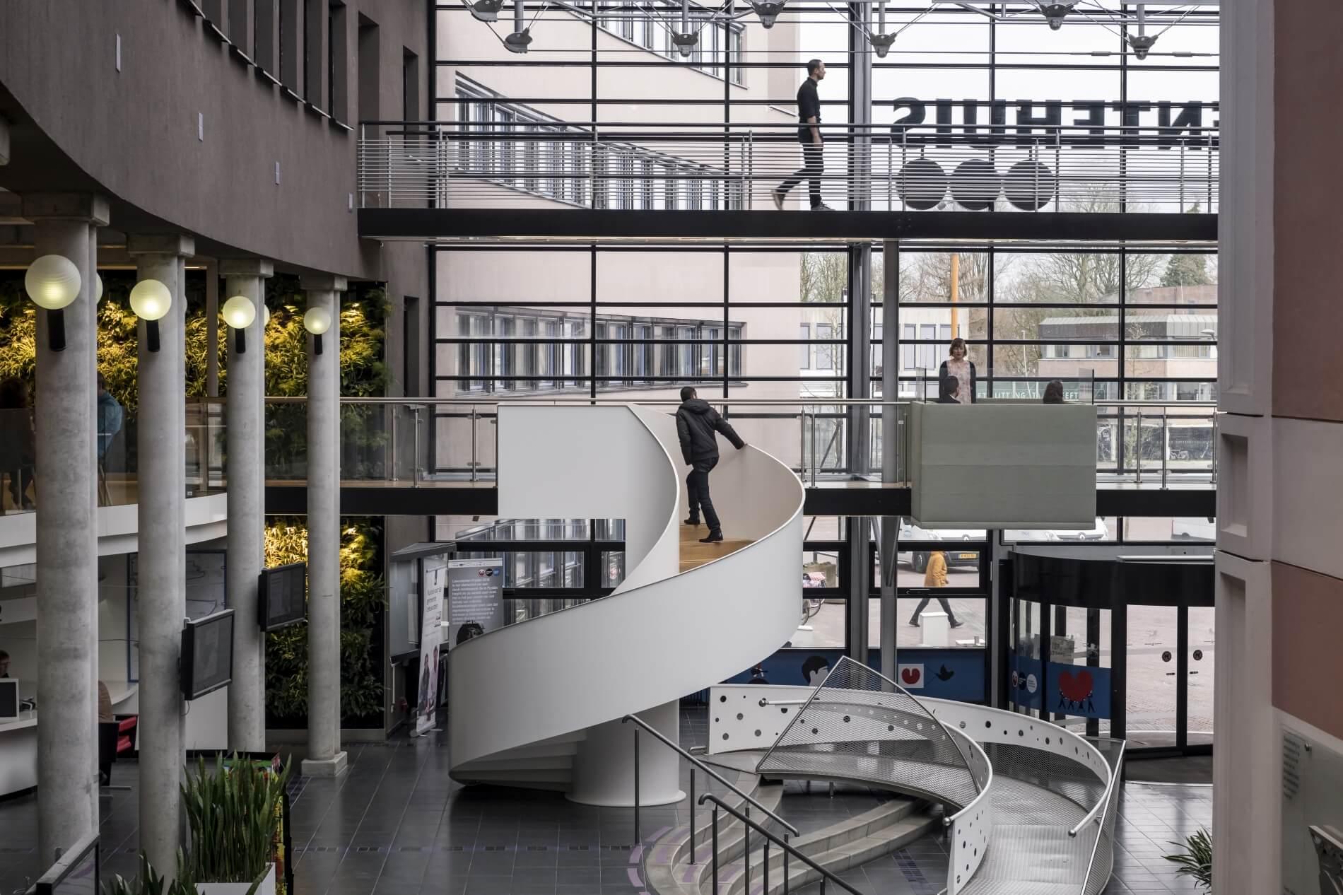 Stadskantoor, Leeuwarden, Van Wijnen, verbouw