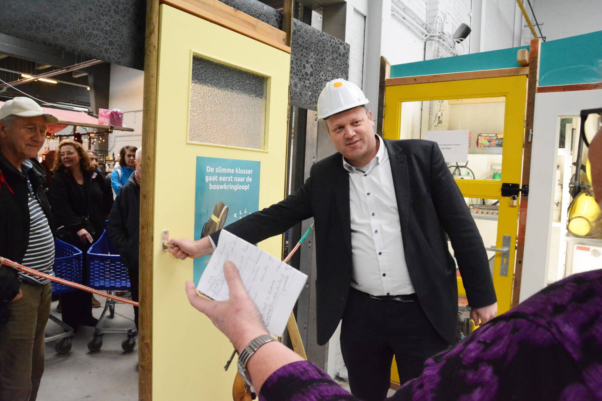 Opening KLUS foto door Henry Krul