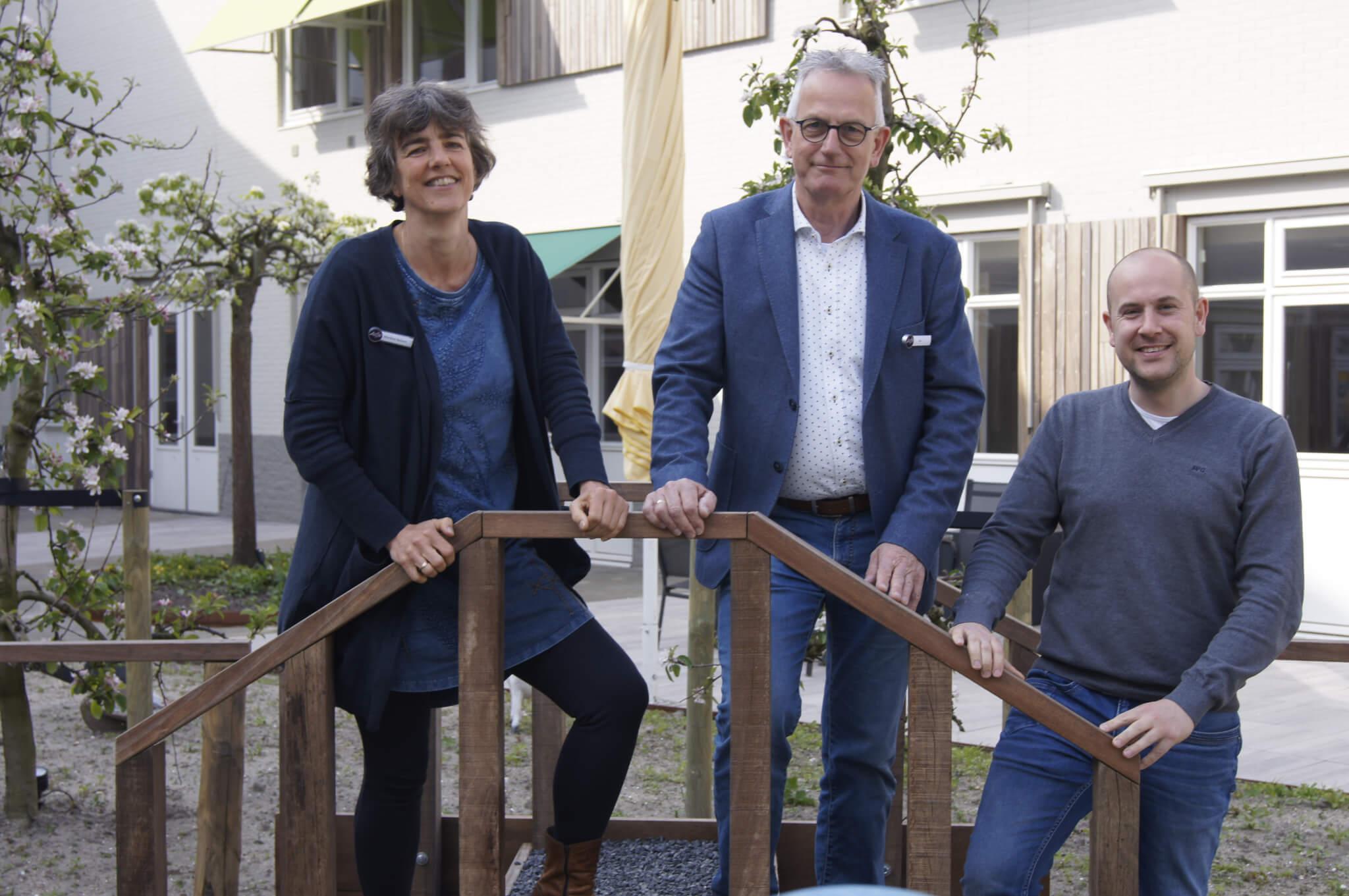 Vijf Havens - vlnr. Marlène Balvert, Jan Idema en Maurits Ozephius.