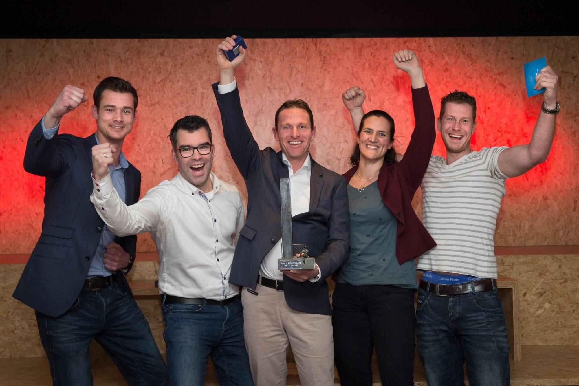Winnende team Bouwplaatstrofee 2017