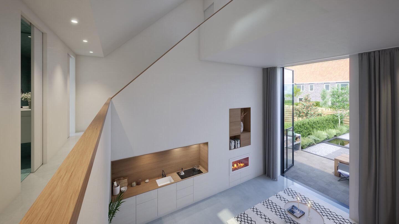 funda Huis - living vanaf boven