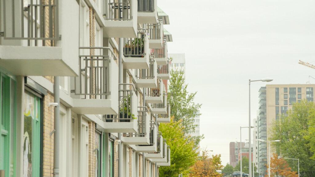 Anton Waldorpstraat, Complex