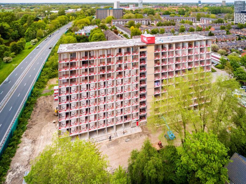 Esdoornflat, Groningen, Acero