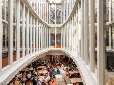Agnieten college Zwartsluis, een project van Janssen Wesselink en Van Wijnen Gorredijk